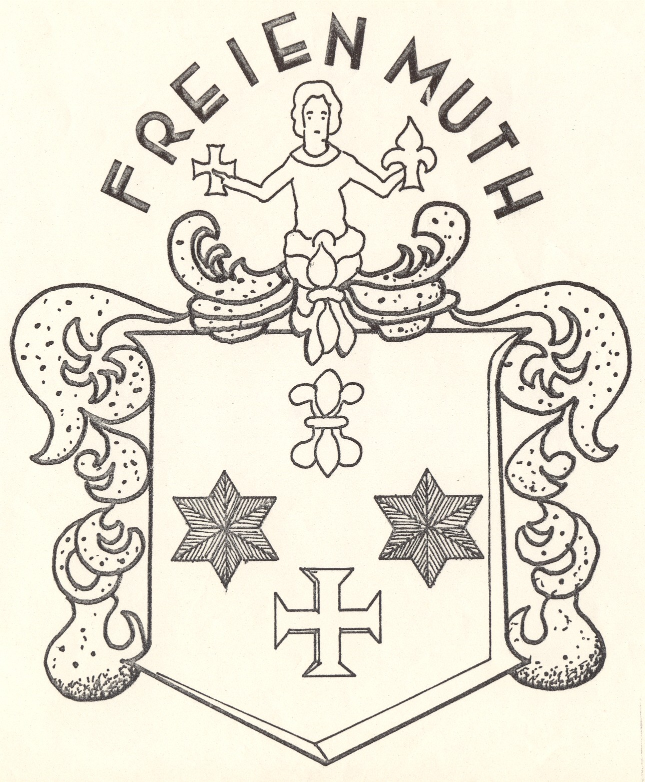 The Freienmuth Family Coats Of Arms